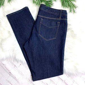 👖|•LANDS' END•| Dark Wash Skinny Jeans Sz. 6👖